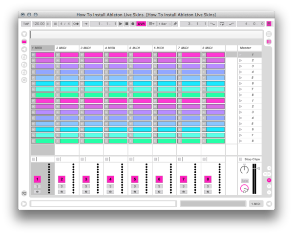 How To Install Ableton Live Skins